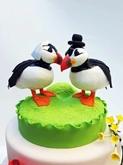 תמונה של עוגת חתונה ציפורים