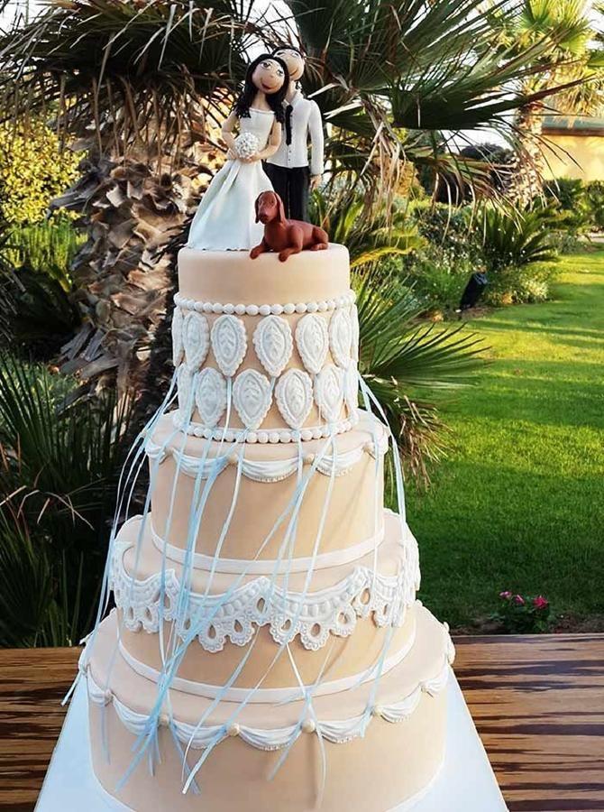 תמונה של עוגת חתונה ארגנטינאית