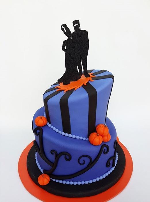 תמונה של עוגת חתונה מהסרטים