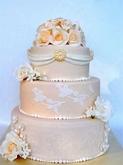תמונה של עוגת חתונה קסם עתיק
