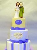 תמונה של עוגת חתונה לחייל וכלה