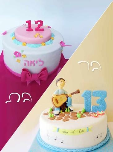 תמונה עבור הקטגוריה עוגות לבת  ובר מצווה