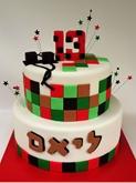 תמונה של עוגת בר מצווה מיינקאפט