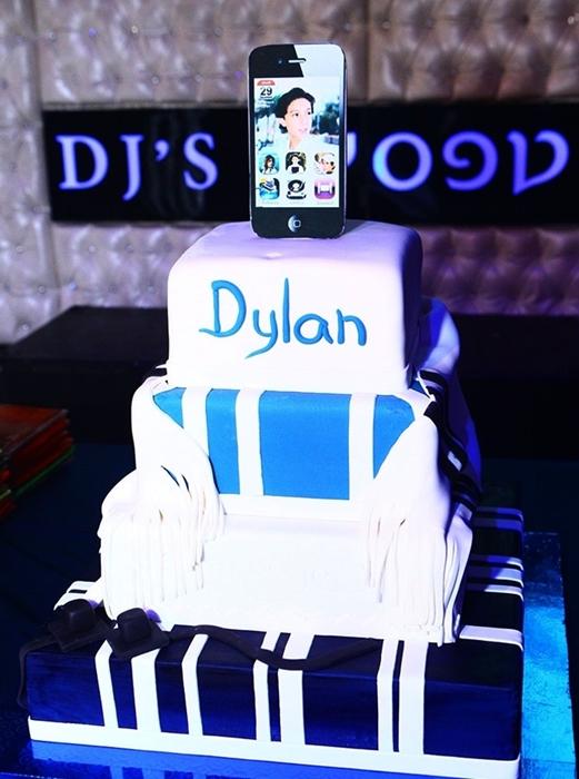 תמונה של עוגת בר מצווה חגיגית
