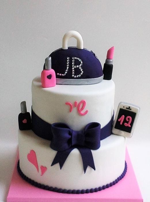 תמונה של עוגת יום הולדת - מה נערה רוצה