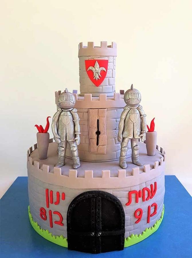תמונה של עוגת יום הולדת - טירת האבירים