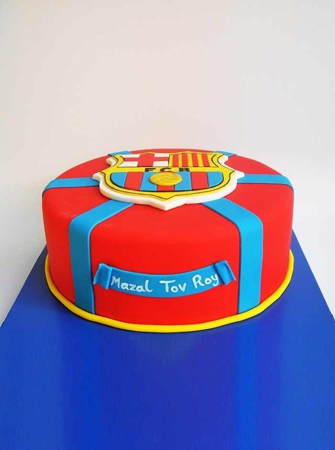 תמונה של עוגת יום הולדת ברסה