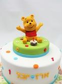 תמונה של עוגת יום הולדת פו הדוב