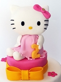 תמונה של עוגת יום הולדת הלו קיטי