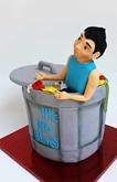 תמונה של עוגת יום הולדת - פחוש