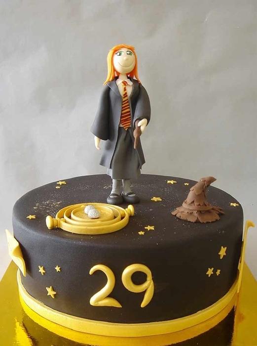 תמונה של עוגת יום הולדת הארי פוטר
