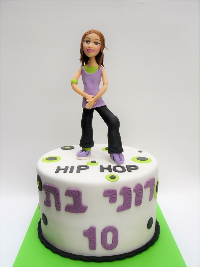 תמונה של עוגת יום הולדת היפ הופ