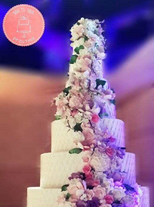 תמונה עבור הקטגוריה עוגות חתונה מפוארות