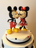תמונה של עוגת חתונה מיקי ומיני