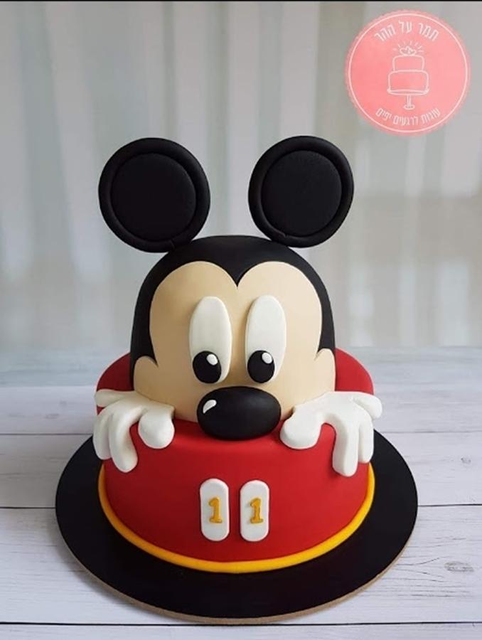 תמונה של עוגת יום הולדת מיקי מאוס