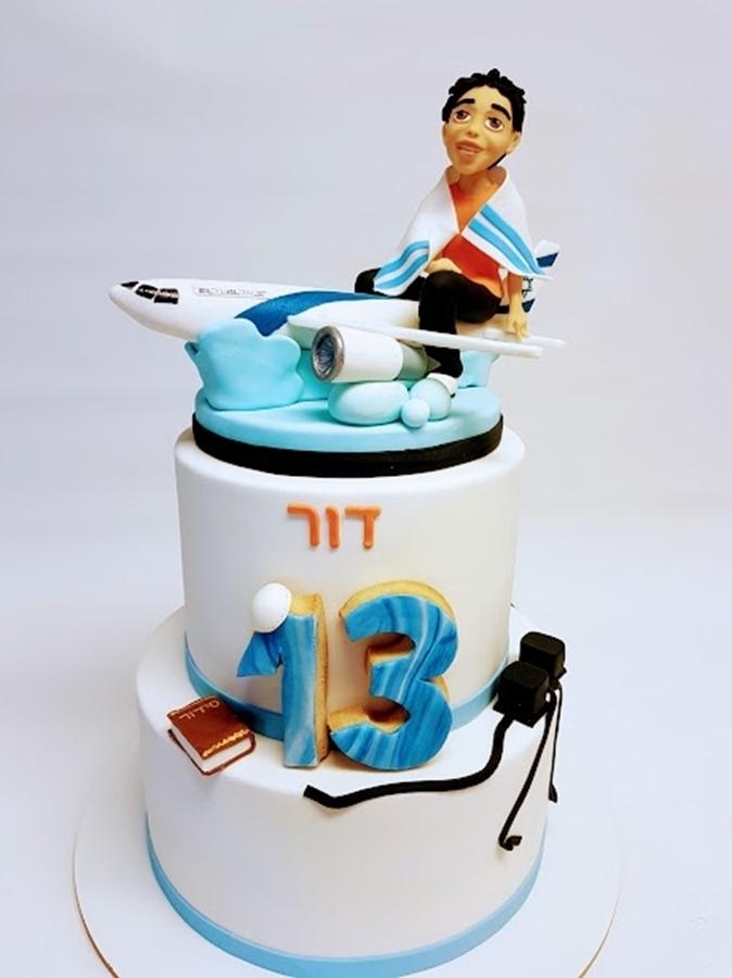 תמונה של עוגת בר מצווה ממריאים