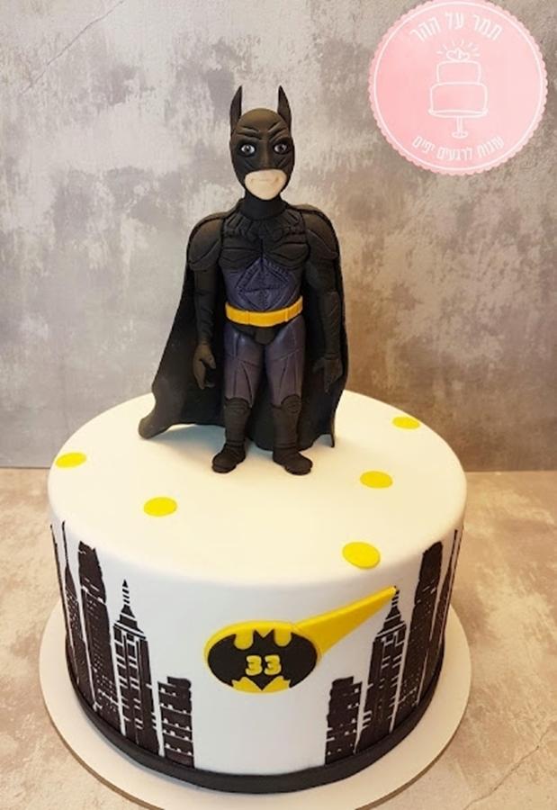תמונה של עוגת יום הולדת באטמן