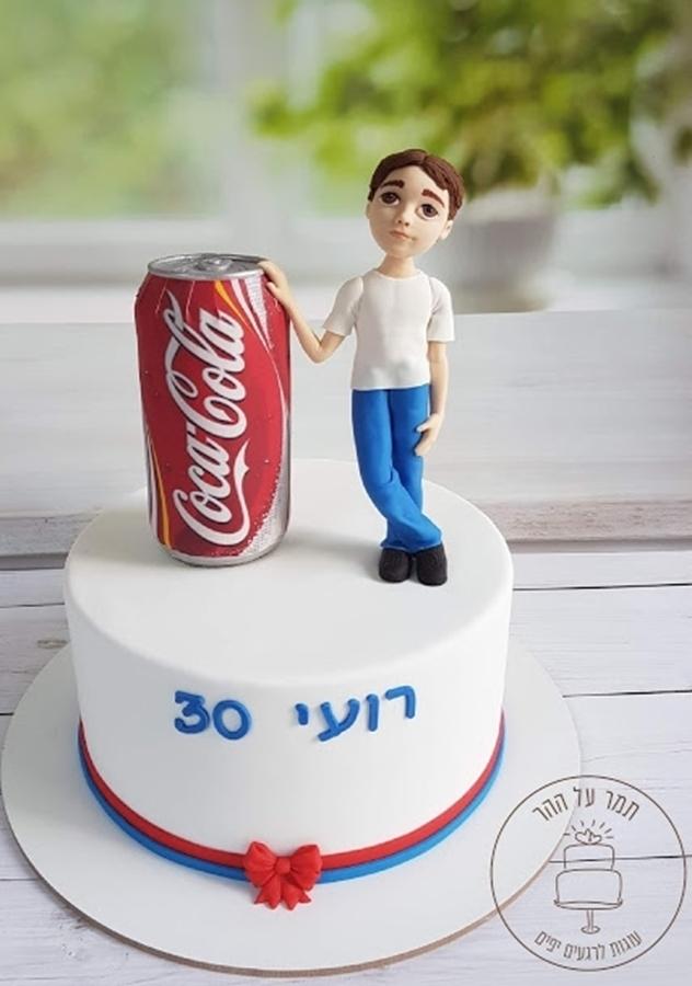 תמונה של עוגת יום הולדת 30