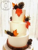 תמונה של עוגת חתונה סתווית