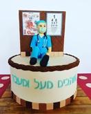 תמונה של עוגת יום הולדת לרופא עיניים