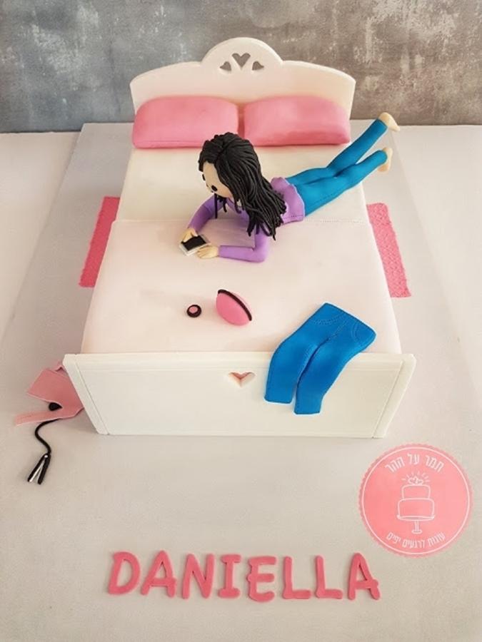 תמונה של עוגת יום הולדת החדר שלי