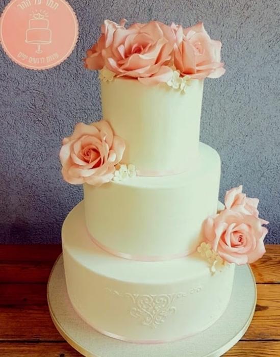 תמונה של עוגת חתונה קלאסית