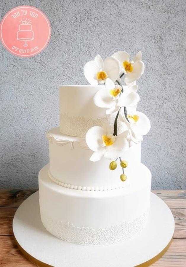 עוגת חתונה סחלבים