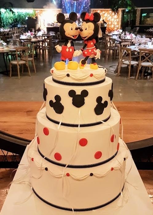 תמונה של עוגת חתונה ארגנטינאית מיני ומיקי
